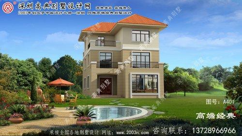 萧山区复式三层别墅设计图