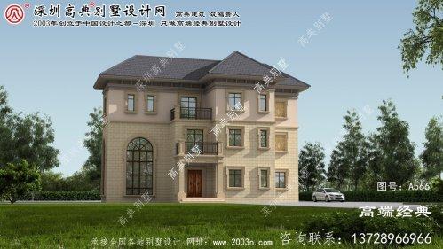 临泉县农村三层别墅