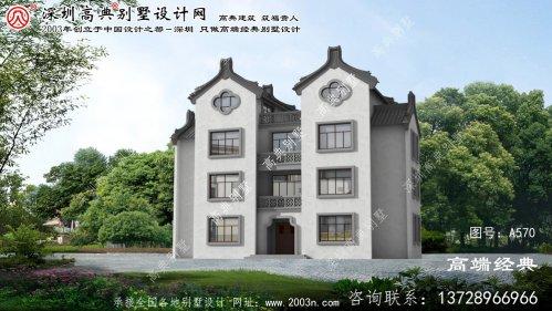 金寨县乡村别墅设计效果图