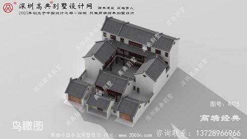 宿州市别墅自建房屋设计图纸