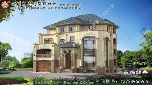 安义县农村院落设计效果图