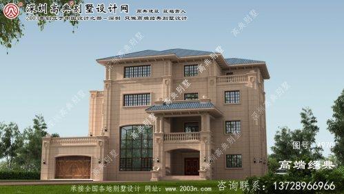 桓台县农村新型别墅设计