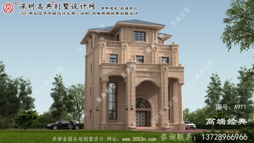 济阳县别墅房型设计图