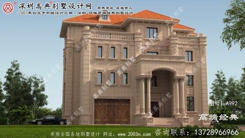 沙市区钢结构别墅设计图纸