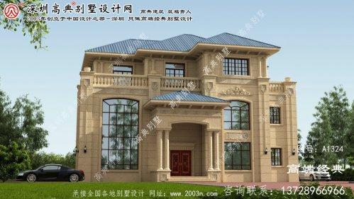 拱北区房屋顶部设计图