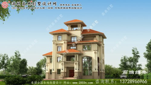江洲区农村复式别墅设计图