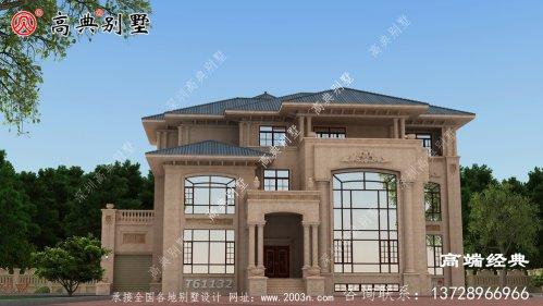 修文县别墅建筑设计平面图