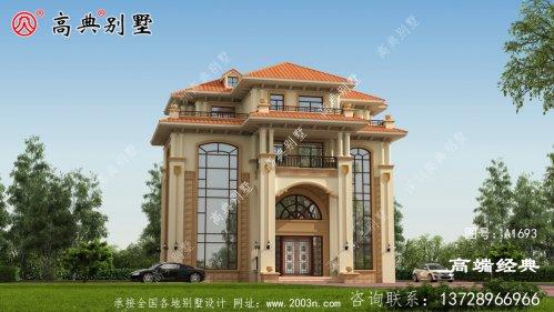 边坝县农村的别墅