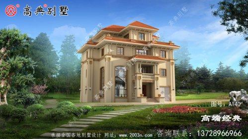 农村大户型别墅这样建你家就是独秀了