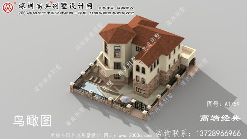 洛浦县三层别墅清新自然,满足了现代人追求高