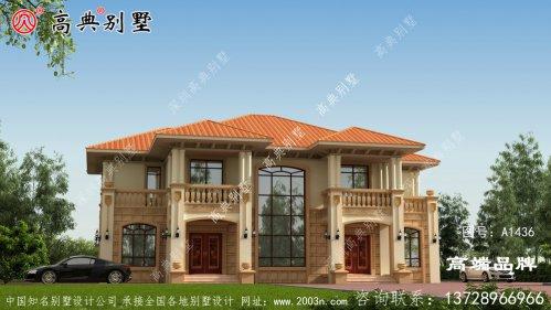 自建房屋设计图大全经济舒适的居住环境