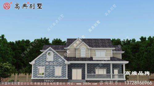 别墅设计图碾压欧式风格