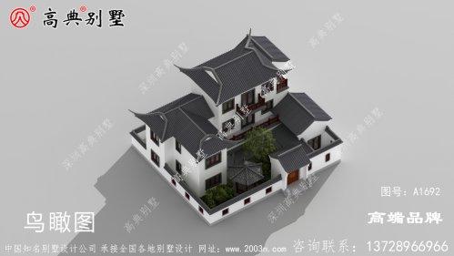 做房子的设计图此生在老家建一栋,养老足以!