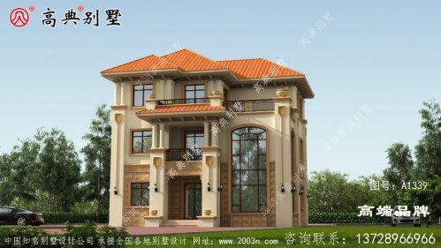 农村房屋设计外观效果图舒适大气上档次