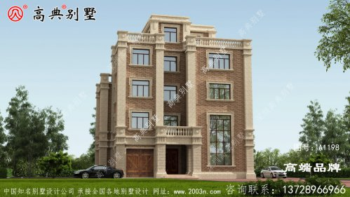 五层别墅设计图美到极致