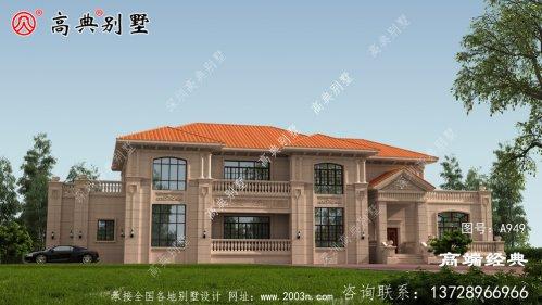 阳泉市经济实用型农村二层小楼图,值得建造!