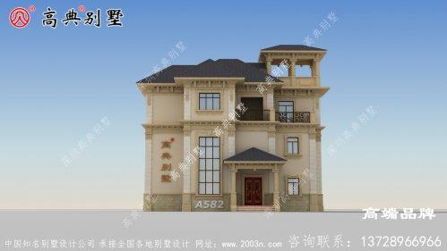 一般农村房屋设计图简约时尚大气