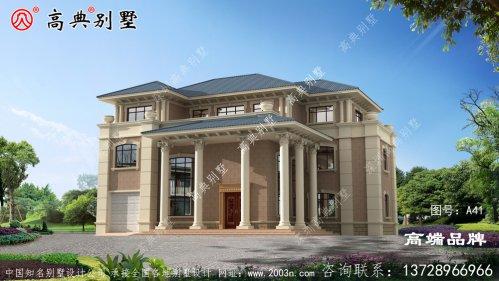 农村房子格式设计图每一栋都美轮美奂