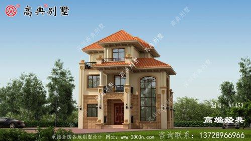 家人居住还是客人居住,都能完全满足别墅户型