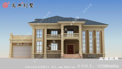 家家户户都能建得起的简欧风格别墅