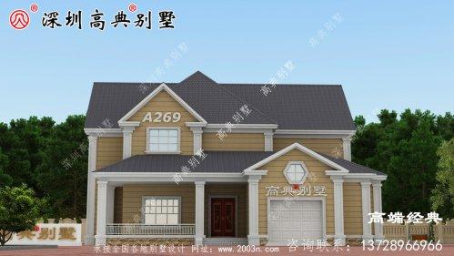 最新 经济型别墅 设计图集 ,大家说 好看 又实用 ,快来看看 !