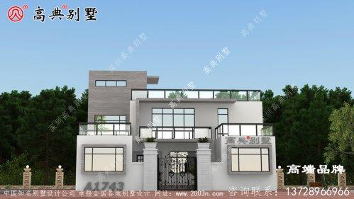 建这样的别墅一看就是好有钱的样子