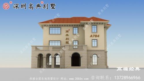 最受欢迎的三层别墅设计图,老乡借钱也抢着盖
