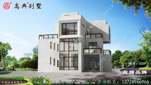 雅精致却不失清新自然的氛围的现代风格别墅