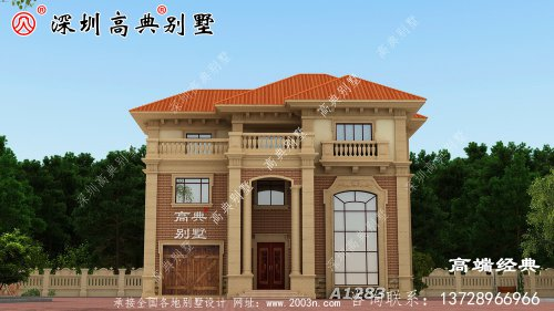 在农村建房,几十万就可以盖漂亮的豪宅,堪比
