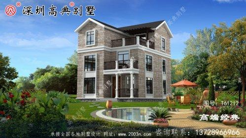 三层欧式别墅设计图,外观造型优雅,室内布局合理