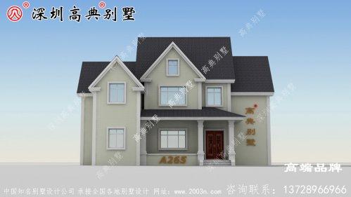 二层欧式别墅设计图,优雅温暖、不同凡俗。