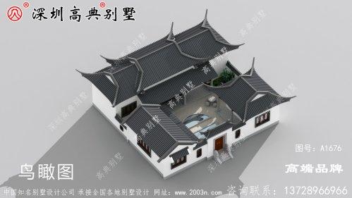 新农村别墅设计图,简洁大方,风格独特