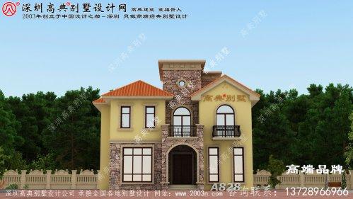 三层楼房设计图纸,真正值得建的好房子,让农