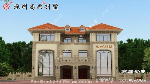 新的三层住宅设计图,让你建房不盲目,都是基