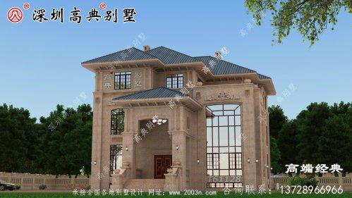 农村三层楼的设计图,盖房子很重要,不能疏忽