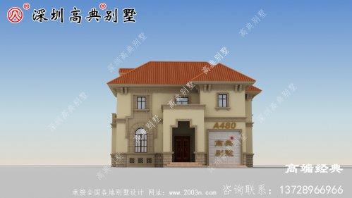 小户型大功能,农村建别墅的第一选择