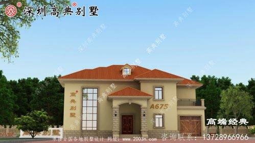 农村别墅越来越多,如何才能让自己的别墅看起来