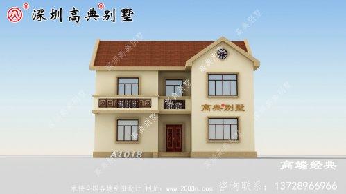 在老家建好这个别墅,村民们看了后纷纷效仿