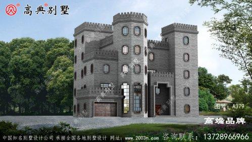 中式高层城堡别墅,真正的豪宅既视感
