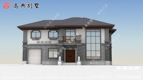 坡屋顶的设计使整个建筑更加协调