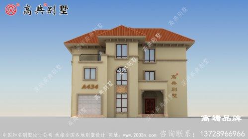 简欧三层别墅的舒适和布局不亚于城里豪宅