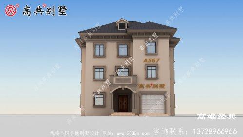 趁着年轻选择美丽的农村风景建造一座独栋别墅